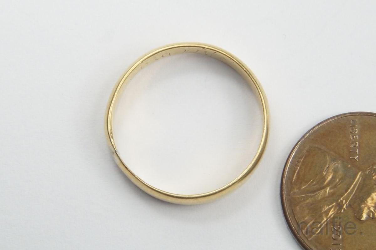antique 22k gold posy ring c1700 a loving